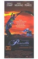 """Adventures of Priscilla  Movie Poster - 11"""" x 17"""""""