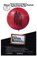 """When Father Was Away on Business - 11"""" x 17"""""""