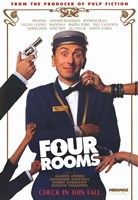 """Four Rooms Tim Roth - 11"""" x 17"""""""