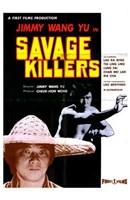 "The Savage Killers - 11"" x 17"", FulcrumGallery.com brand"