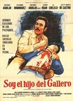 """Soy El Hijo Del Gallero - 11"""" x 17"""", FulcrumGallery.com brand"""