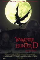 Vampire Hunter D: Bloodlust Wall Poster