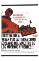 The Plague of the Zombies Wall Poster