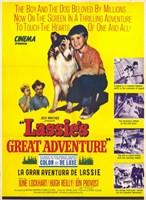 "Lassie's Great Adventure - 11"" x 17"""