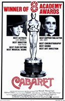 Cabaret 8 Academy Awards Wall Poster