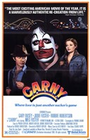 "Carny Clown - 11"" x 17"""