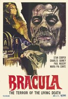 Dracula the Terror of the Living Dead Fine Art Print