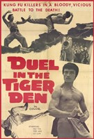 """Duel in the Tiger Den - 11"""" x 17"""""""