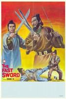 """Fast Sword - 11"""" x 17"""" - $15.49"""