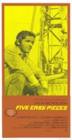 Five Easy Pieces Tall Wall Poster