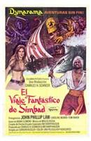 """Golden Voyage of Sinbad - 11"""" x 17"""""""