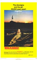 """Walkabout movie - 11"""" x 17"""""""