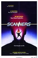 "Scanners - future shock soon - 11"" x 17"", FulcrumGallery.com brand"