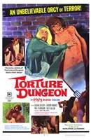 """Torture Dungeon - 11"""" x 17"""" - $15.49"""