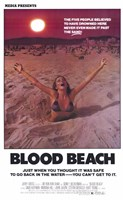 Blood Beach Wall Poster