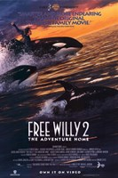 """Free Willy 2 the Adventure Home - 11"""" x 17"""""""