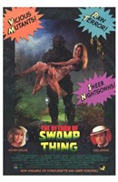 "Return of the Swamp Thing - 11"" x 17"", FulcrumGallery.com brand"
