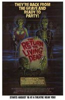 "Return of the Living Dead Movie - 11"" x 17"""