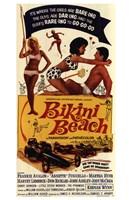 """Bikini Beach - 11"""" x 17"""""""
