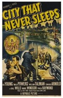 "City That Never Sleeps - 11"" x 17"""