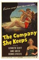 """The Company She Keeps - 11"""" x 17"""""""