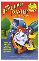 """The Brave Little Toaster to the Rescue - 11"""" x 17"""""""
