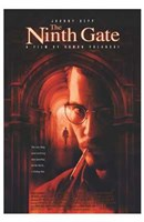 The Ninth Gate Johnny Depp Wall Poster