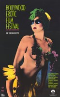 "Hollywood Erotic Film Festival - 11"" x 17"""