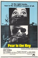 "Fear is the Key - 11"" x 17"" - $15.49"