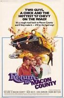 "Return to Macon County - 11"" x 17"", FulcrumGallery.com brand"