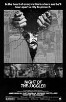"Night of the Juggler - 11"" x 17"""