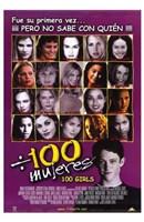 """100 Girls - 11"""" x 17"""" - $15.49"""