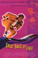 "Great Balls of Fire Jerry Lee Lewis - 11"" x 17"""