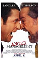 Anger Management Wall Poster