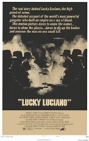 """Lucky Luciano - 11"""" x 17"""""""