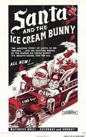 "Santa and the Ice Cream Bunny - 11"" x 17"""