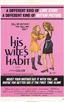 """His Wife's Habit - 11"""" x 17"""""""