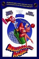 "Rollercoaster Rabbit - 11"" x 17"""
