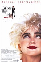 Who's That Girl Wall Poster