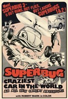"Superbug Craziest Car in World - 11"" x 17"""