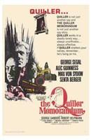 """The Quiller Memorandum - 11"""" x 17"""""""