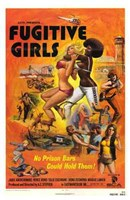 Fugitive Girls Wall Poster