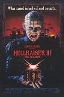 """Hellraiser 3 Hell on Earth - 11"""" x 17"""""""