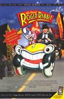 "Who Framed Roger Rabbit - Cartoon Car - 11"" x 17"""