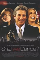 Shall We Dance Richard Gere Jennifer Lopez Wall Poster