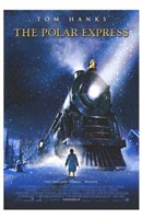 The Polar Express Christmas Train Wall Poster