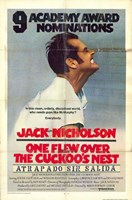 """One Flew Over the Cuckoo's Nest Vintage - 11"""" x 17"""""""