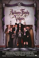 "Addams Family Values - Posed Family - 11"" x 17"""