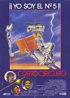 """Short Circuit Spanish - 11"""" x 17"""""""
