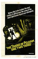 The Taking of Pelham One Two Three - Before this train reaches... Fine Art Print